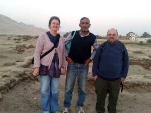 Me, Omar and Chris at Malkata. 2012.