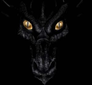 black-face-dragon-eyes