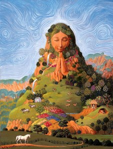 Mother Earth. Gaia.