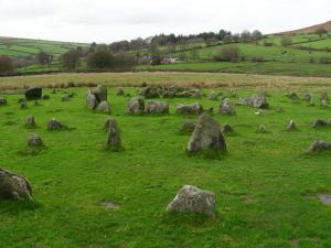 Yellowmead Stone Circle.