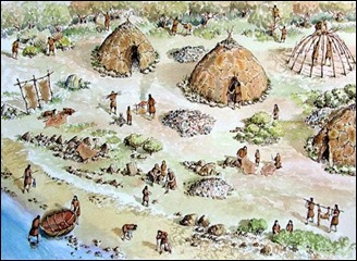 mesolithic camp