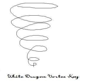 white dragon vortex key