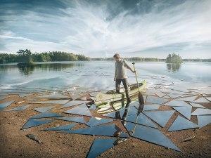 mirror-glass-broken-lake-impact-by-erik-johansson